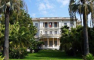 Hans-Georg Tersling - The Villa Masséna in Nice, now the Musée Masséna