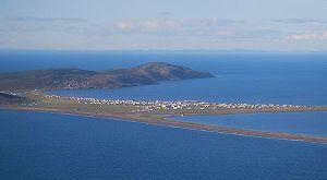 Miquelon Island - Image: Village de Miquelon