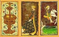 Visconti-Sforza tarot deck – The Devil card is...