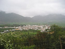 View of Alfarnate