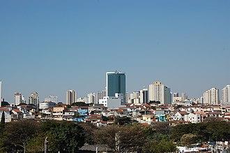 Southeast Zone of São Paulo - Image: Vista do Tatuapé a partir do Cemitério da Quarta Parada