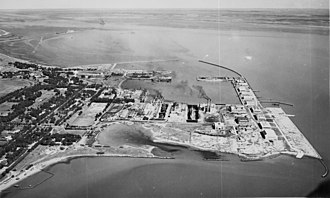 Puerto Belgrano Naval Base - Air view of Puerto Belgrano, 1943