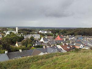 Ennistymon - Image: Vista xeral de Ennistymon