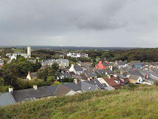 Ennistymon Town in Munster, Ireland