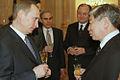 Vladimir Putin with Chung Tae Ik.jpg