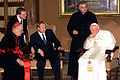 Vladimir Putin with Pope John Paul II-1.jpg