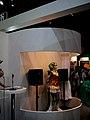 Vocaloid + HRP-4C Miim collaboration, Yamaha booth, CEATEC JAPAN 2009.jpg