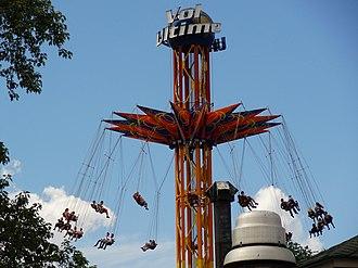 La Ronde (amusement park) - Vol Ultime is a star flyer located at La Ronde.