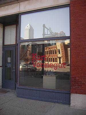 Kurt Vonnegut Memorial Library - Exterior of building