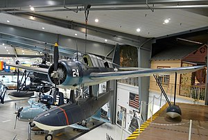 Vought OS2U Kingfisher, Naval Aviation Museum, Pensacola, Florida.jpg