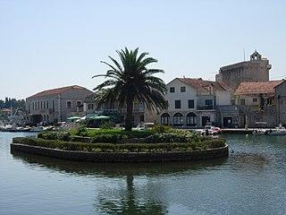 Vrboska Town in Split-Dalmatia County, Croatia