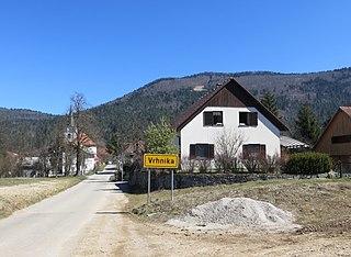 Vrhnika pri Ložu Place in Inner Carniola, Slovenia