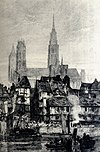 Vue de la cathédrale avant 1822.jpg