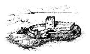 Tower of St. Olav - Vyborg Castle in 14th century