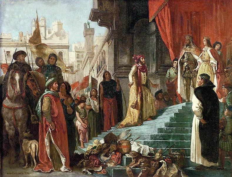 File:WC Delacroix,Eugene The Return of Christopher Columbus.jpg