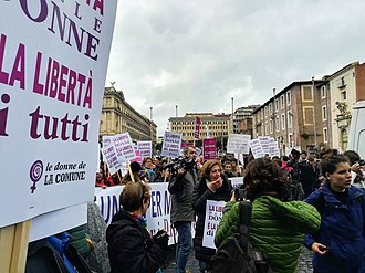 International Day for the Elimination of Violence against Women - Image: WDG March for Elimination of Violence Against Women in Rome (2018) 1
