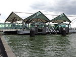 WFC Ferry Terminal (Battery Park City) upstream side.JPG