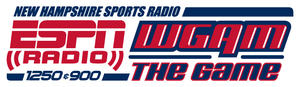"""WGAM - Logo from October 2009 (following the switch to ESPN Radio) until the rebrand to """"ESPN New Hampshire"""" in 2012."""