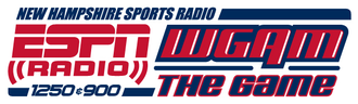 "WGAM - Logo from October 2009 (following the switch to ESPN Radio) until the rebrand to ""ESPN New Hampshire"" in 2012."
