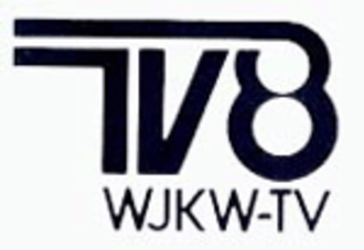 WJW (TV) - The logo originally introduced by channel 8 following the call sign change to WJKW-TV in 1977.