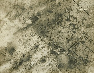 Capture of Wytschaete - Image: WW1 Aerial photograph Messines 1917 06 02