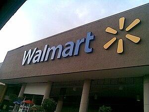 Español: Un Wal-Mart remodelado en la Ciudad d...