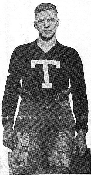 Walker Carpenter - Carpenter with letterman's T.