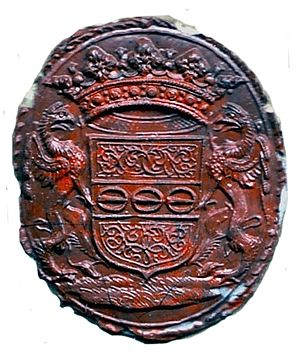 Walter Leslie (count of the Holy Roman Empire) - Image: Walter Leslie seal