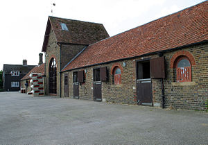 Walter Swinburn - Image: Walter Swinburn Racing Stables in Aldbury