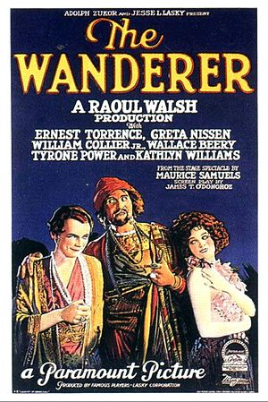 The Wanderer (1925 film) - Film poster