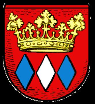 Kallmünz - Image: Wappen Kallmuenz