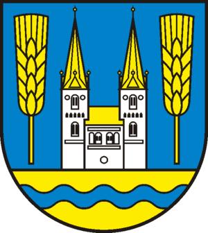Jerichow - Image: Wappen Stadt Jerichow