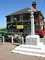 War memorial and post office, Eythorne - geograph.org.uk - 1532453.jpg