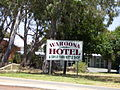 Waroona Hotel & Drive Thru Bottle Shop sign (E37@WTW2013).JPG