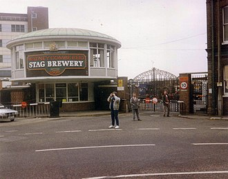 Mortlake - The Stag Brewery, Mortlake in 1989