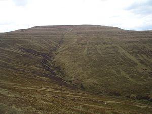 Black Mountains, Wales - Waun Fach from Mynydd Llysiau