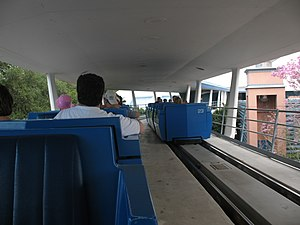 PeopleMover - The Tomorrowland Transit Authority at Disney's Magic Kingdom