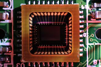 Charge-coupled device - CCD color sensor