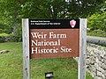 Weir Farm National Historic Site - sign.jpg