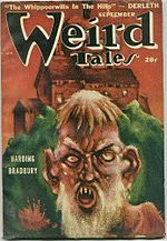 Weird Tales cover image for September 1948