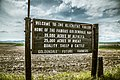 Welcome to the Klickitat Valley Sign - Goldendale, Washington (19539470743).jpg
