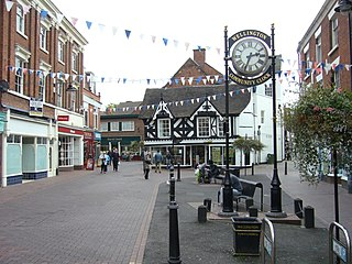 Wellington, Shropshire town in Shropshire, England