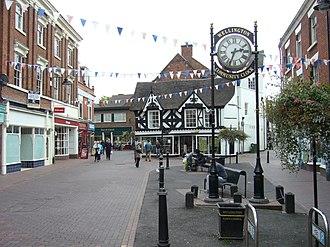 Wellington, Shropshire - Image: Wellington Shropshire 1