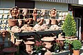 Wentworth's Terracotta Army, Garden Centre, Wentworth - geograph.org.uk - 1756403.jpg