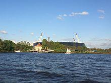 Weserstadion mit Segelverein Weser