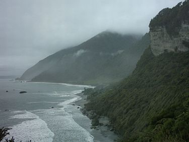 Typical weather of the West Coast West Coast New Zealand.jpg