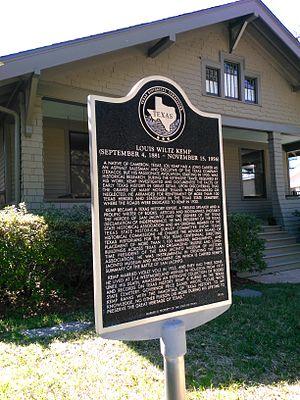 Westmoreland, Houston - Historical marker