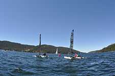 Weta Trimaran on Huntington Lake CA.jpg