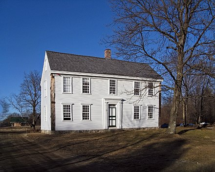 Thoreau's birthplace, the Wheeler-Minot Farmhouse in Concord, Massachusetts Wheeler-Minot Farmhouse, Concord MA.jpg