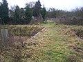 Wide Footbridge on footpath - geograph.org.uk - 1084186.jpg